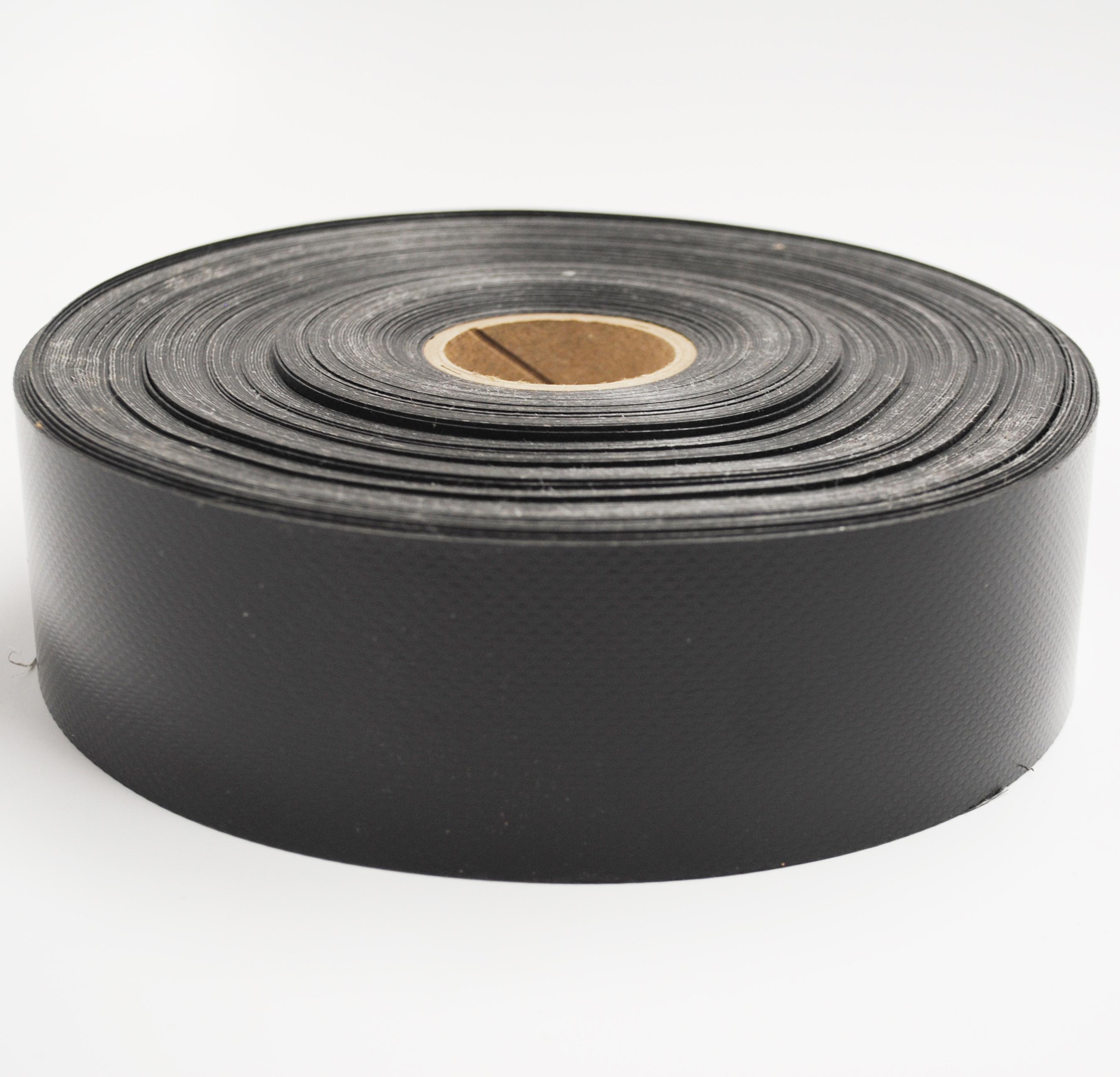 2″ PVC Reinforcement Facing Black : Manart-Hirsch