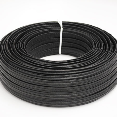 Black ⅝ Vinyl Hidem Gimp Manart Hirsch